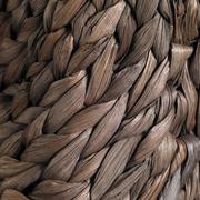Stock Photo of plaited bag closeup