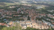 Stock Video Footage of Europe, Italy, a beautiful aerial view of San Marino.
