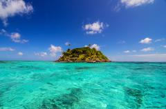 Stock Photo of Small Secluded Island