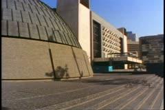 Centennial Concert Hall, exterior, Winnipeg, Canada Stock Footage