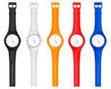 Color wristwatch Stock Illustration