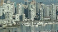 Vancouver condos. Stock Footage