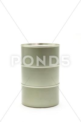 Stock photo of tin can