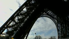 Eiffel Tower Military Patrol ED Stock Footage