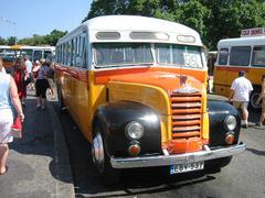 Bus in Valletta, Malta Stock Photos