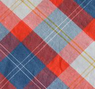 Stock Photo of Checkered Fabric