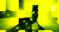Abstract background in yellow color Stock Footage