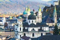Salzburg (austria) inner city Stock Photos