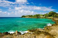 Stock Photo of Idyllic Turquoise Bay
