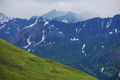 Stock Photo of mountains on alaska