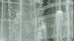Office Windows Water Display ED Stock Footage