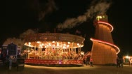 Vintage Fairground Stock Footage
