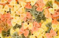 Colorful Farfalle Stock Photos