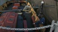 Dutch dock scene Stock Footage