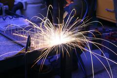 Welding device Stock Photos