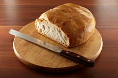 tuscany bread - stock photo