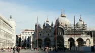 Stock Video Footage of Piazza San Marco on December 11, 2012 in Venice.