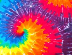 Tie Dye - stock photo