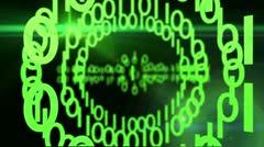 Digital Security Lock Web Turvallisuus Arkistovideo