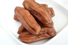 Stock Photo of dried banana