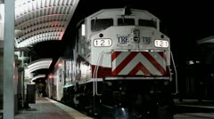 Night Time Express 2 Stock Footage