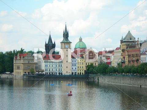 Stock photo of View of Prague