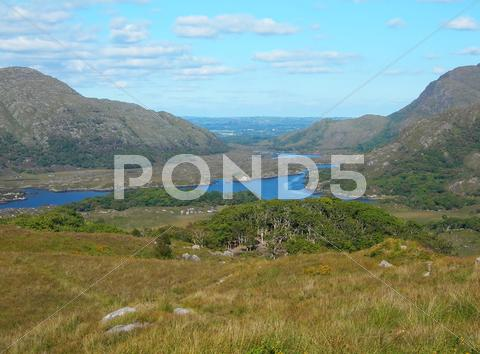 Stock photo of Ladies' view in Kerry, Ireland