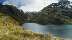 Routeburn track Stock Footage