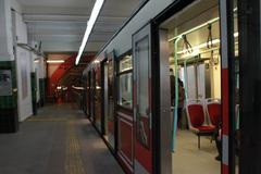 Underground Metro - stock photo