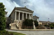 Stock Photo of National Library in Athens, Greece