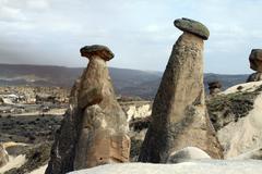 Cappadocia Fairy Chimneys Stock Photos