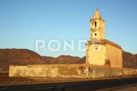 Stock photo of Abandoned church