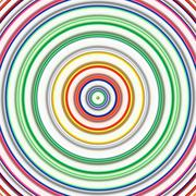 Multicolored circles on a white background. Stock Illustration