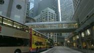 4K China Hong Kong Rush hour zebra crossing Stock Footage