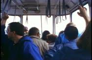 Jasper National Park, Alberta, Canada, Jasper Tramway, inside tram cab Stock Footage