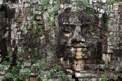Angkor east gate Stock Photos
