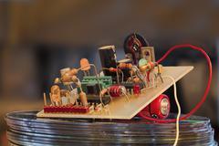 electronic - stock photo