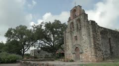 Missions National Historical Park San Antonio Texas - stock footage