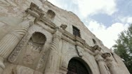 Stock Video Footage of The Alamo San Antonio