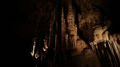 Natural Bridge Caverns Cave San Antonio Texas - stock footage