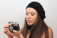 Stock Photo of Photographer