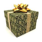 fancy gift - stock illustration