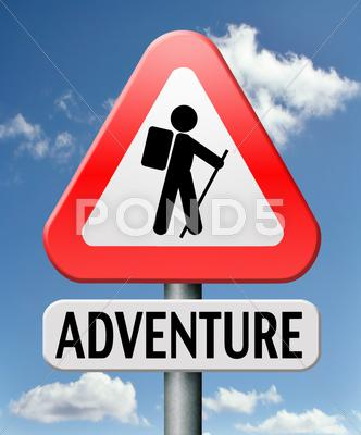 Stock Illustration of adventure