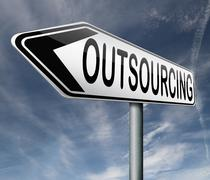 Outsourcing Stock Illustration