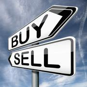 Buy or sell Stock Illustration