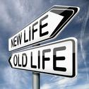 Old or new life Stock Illustration