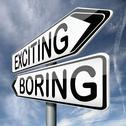 Exciting or boring Stock Illustration