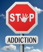 Addiction Stock Illustration