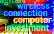 Wireless connection Stock Illustration