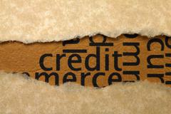 credit concept - stock photo